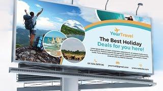 billboard design in illustrator how to design a billboard