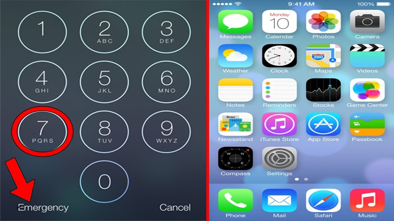 how to dial alphabets on iphone