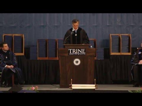 Mitt Romney 2016 Trine University Commencement Speech