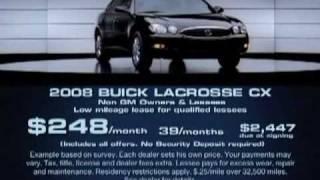 2008 Buick Pontiac GMC Commercial
