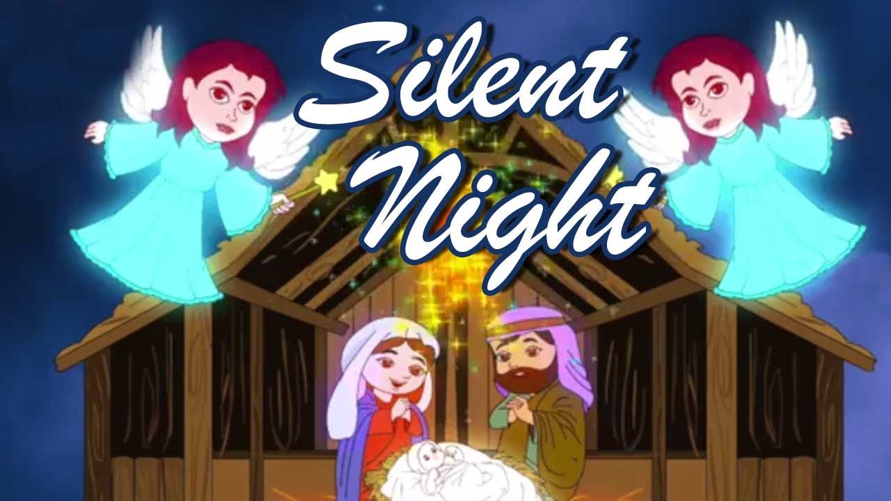 silent night holy night song christmas songs for children animated rhymes for children youtube. Black Bedroom Furniture Sets. Home Design Ideas