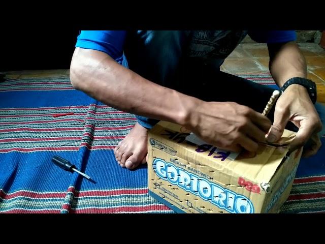 unboxing blue iguana (gakniat)