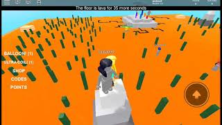 OMG ces chaud - roblox the floor is Lava