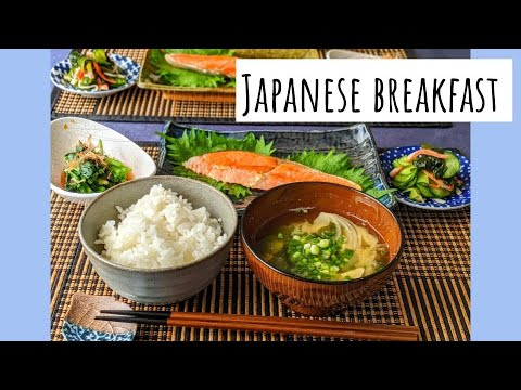 JAPANESE BREAKFAST/ EASY RECIPE/ Japanese mom morning routine