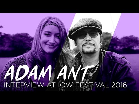 Adam Ant on why the 80s live on | IOW Fest 2016