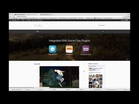 Customize Vantage WordPress Theme