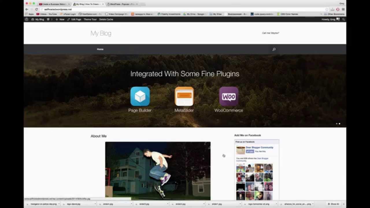 customize vantage wordpress theme youtube. Black Bedroom Furniture Sets. Home Design Ideas