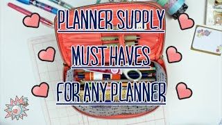 Planner Supply Must Haves For ANY Planner