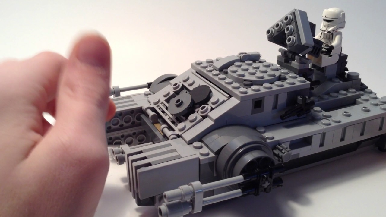 how to make a lego star wars turret