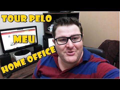 Tour pelo Meu Home Office e Minha Nova Aquisição! - Wesley Pereira