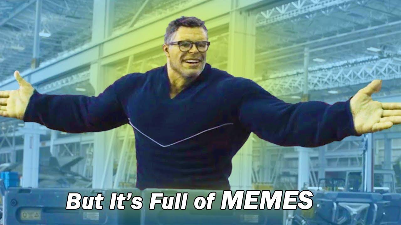 Avengers Endgame But It S Full Of Memes Youtube