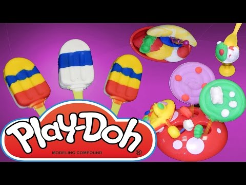 Play Doh Ice Cream Set Playset Play-doh Unboxings HD New 2015
