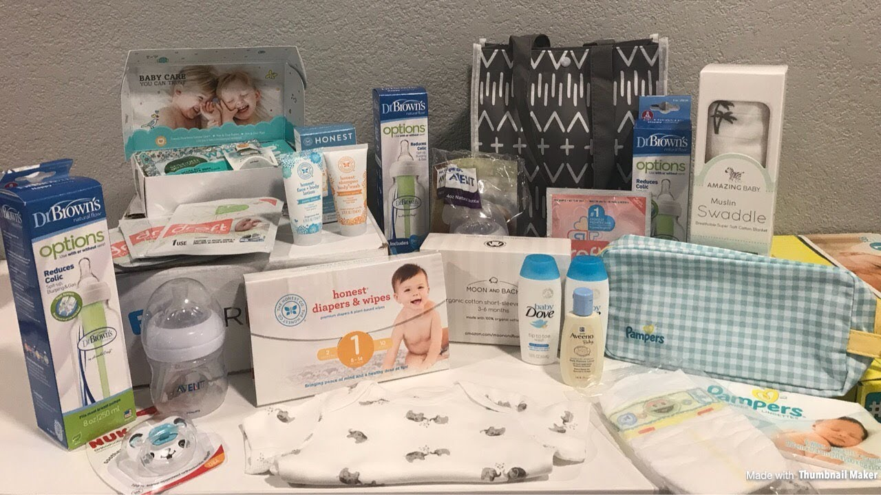 FREE Amazon Baby Welcome Box 2018 & Target Baby Registry ...
