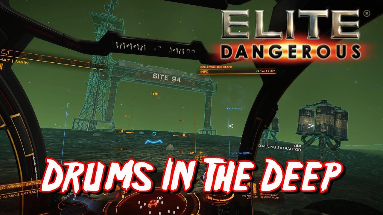 Elite: Dangerous - Drums In The Deep