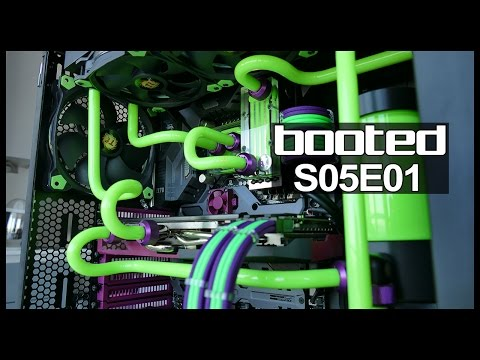 The Water Cooling Bloodbath Begins!! Booted S05E01