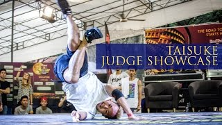 Bboy Taisuke | Judge Showcase | Red Bull BC One Singapore Cypher 2015 | RPProductions