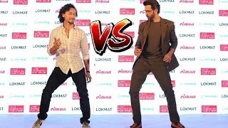 Tiger Shroff Vs Hrithik Roshan Dance Competition!