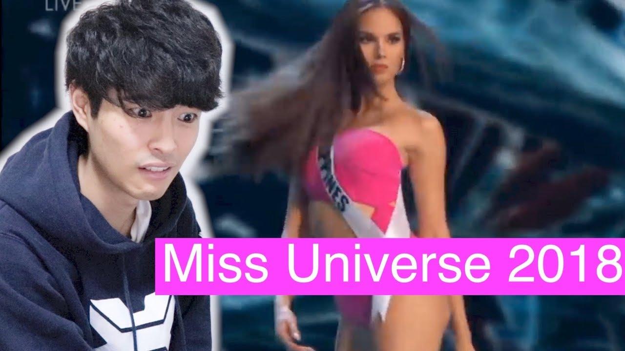 Fumiya Is Reacting Miss Universe 2018 Catriona Gray