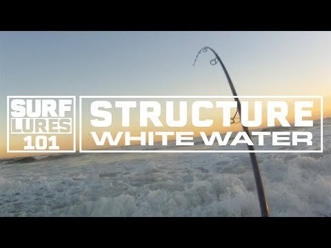 Surf Fishing 101 With Zeno Hromin- Fishing In The White Water