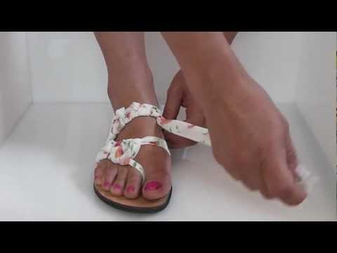 Πλεκτό Σανδάλι Knitted Sandal