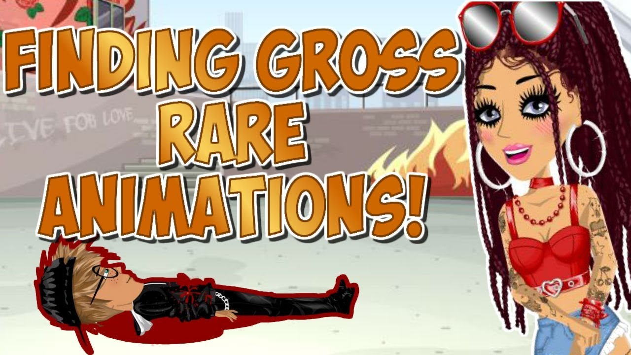Finding Gross Rare Animations On MSP!