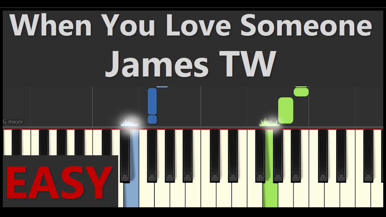 Someone You Loved Piano