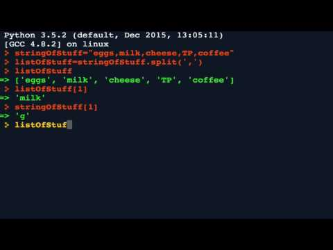 Python 21:  split() and  join() around delimeters - YouTube