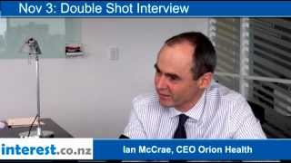 Double Shot Interview: Ian McCrae, CEO Orion Health with Andrew Patterson