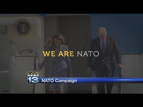 Local company launches campaign promoting NATO