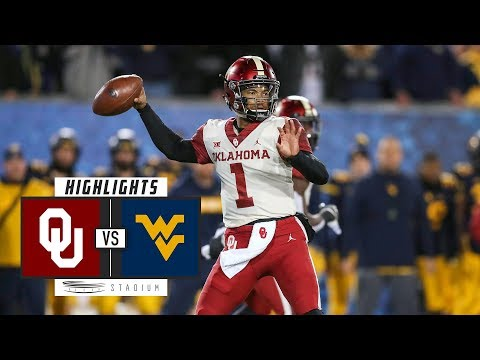 No. 6 Oklahoma vs. No. 13 West Virginia Football Highlights (2018) | Stadium