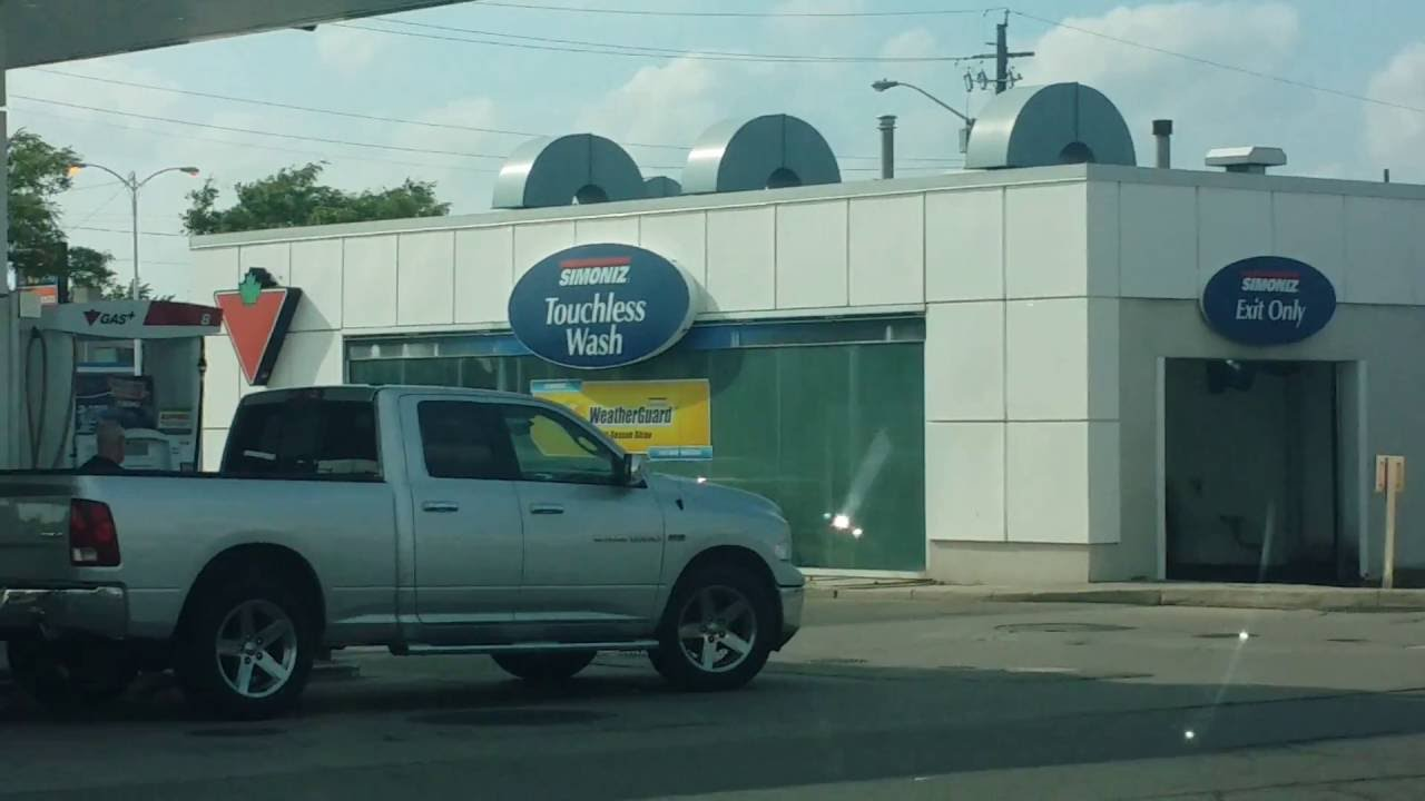 Review Of The Canadian Tire Car Wash In Hamilton Ontario Youtube