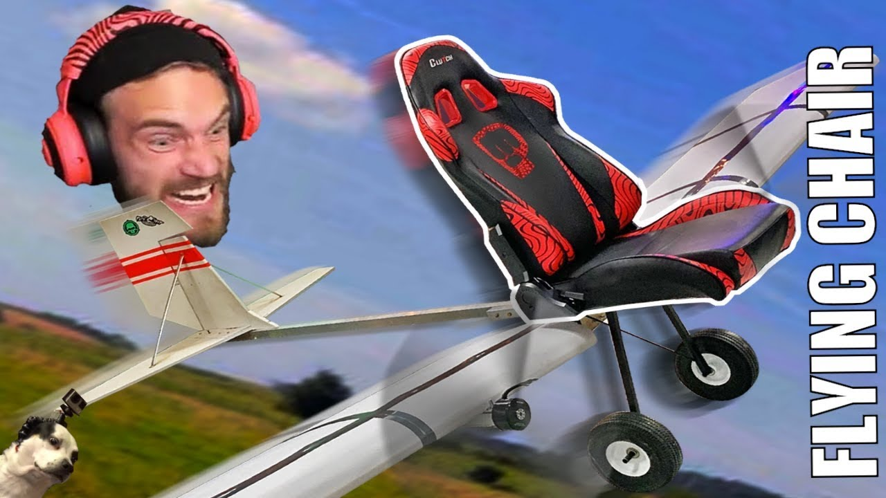 EXTREME FLYING gaming chair!!!