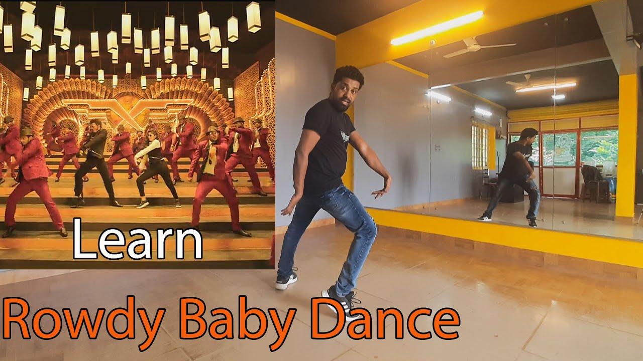 Rowdy Baby dance tutorial - YouTube