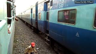 #Diesel #wdm3a 12401 magadh express xing with 12402 magadh express