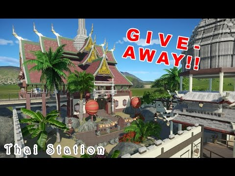 Planet Coaster Give Away | Thailand Station Build | Future Plans | New Let´s Play & much more!