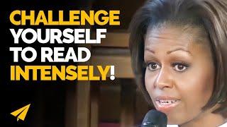 """Be a VORACIOUS READER!"" - Michelle Obama - #Entspresso"