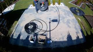 Budowa ogrzewania solarnego do basenu za pomocą rury PE25