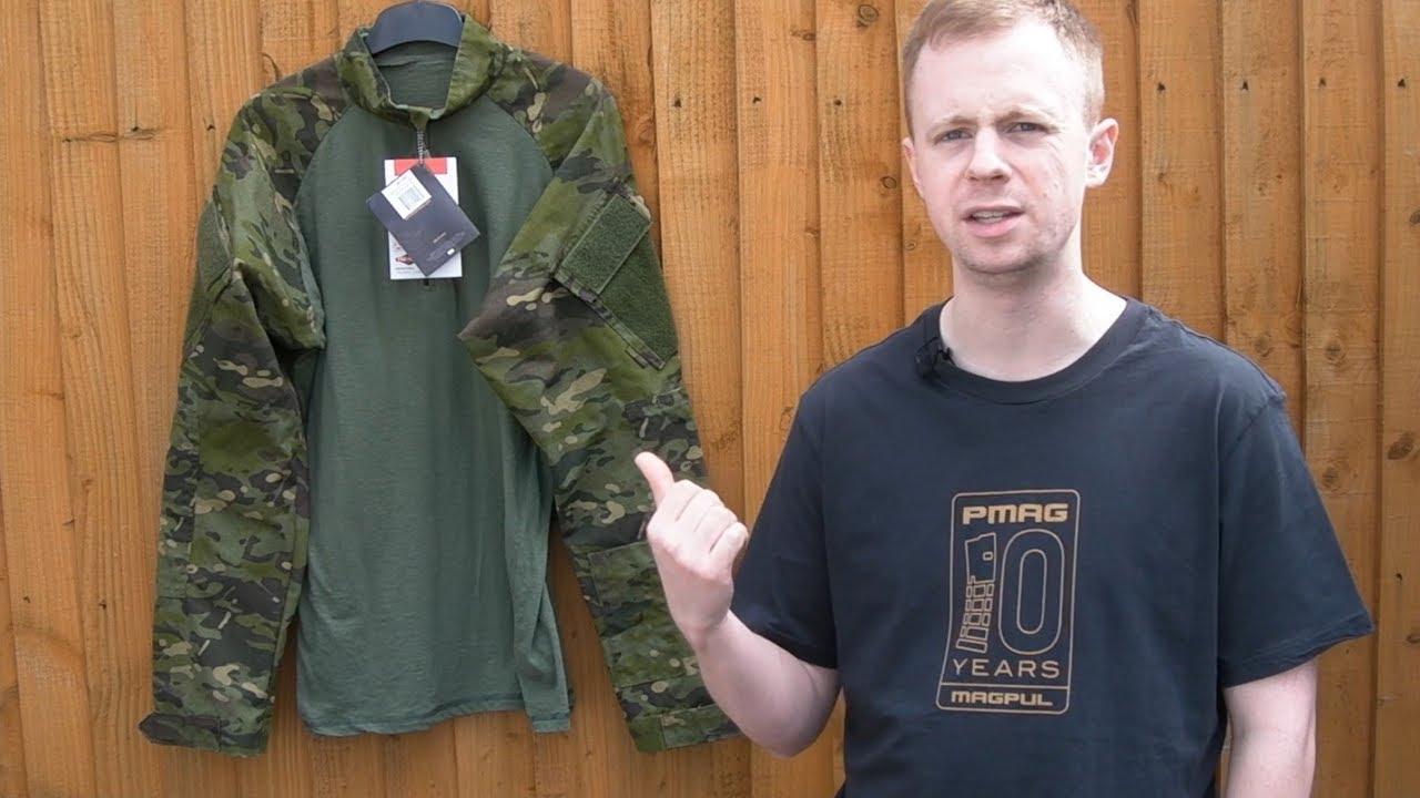 TRU-SPEC Combat Shirt 1//4 Zip Multicam