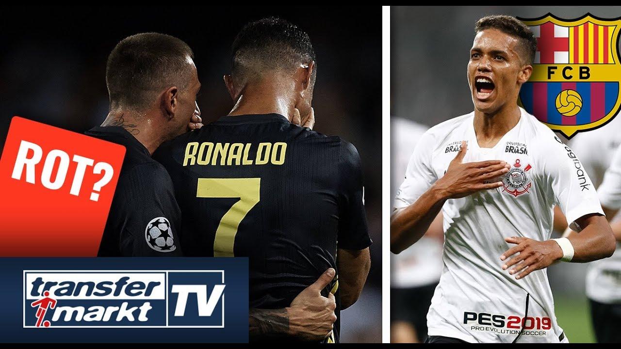 Ronaldo Rote Karte Heute