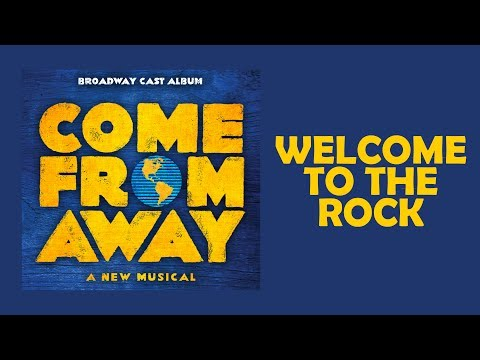 Welcome To The Rock — Come From Away (Lyric Video) [OBC]