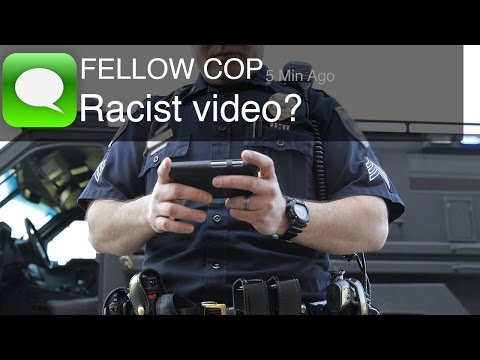 Racist Police Text Video Released (Warning: Disturbing Content)