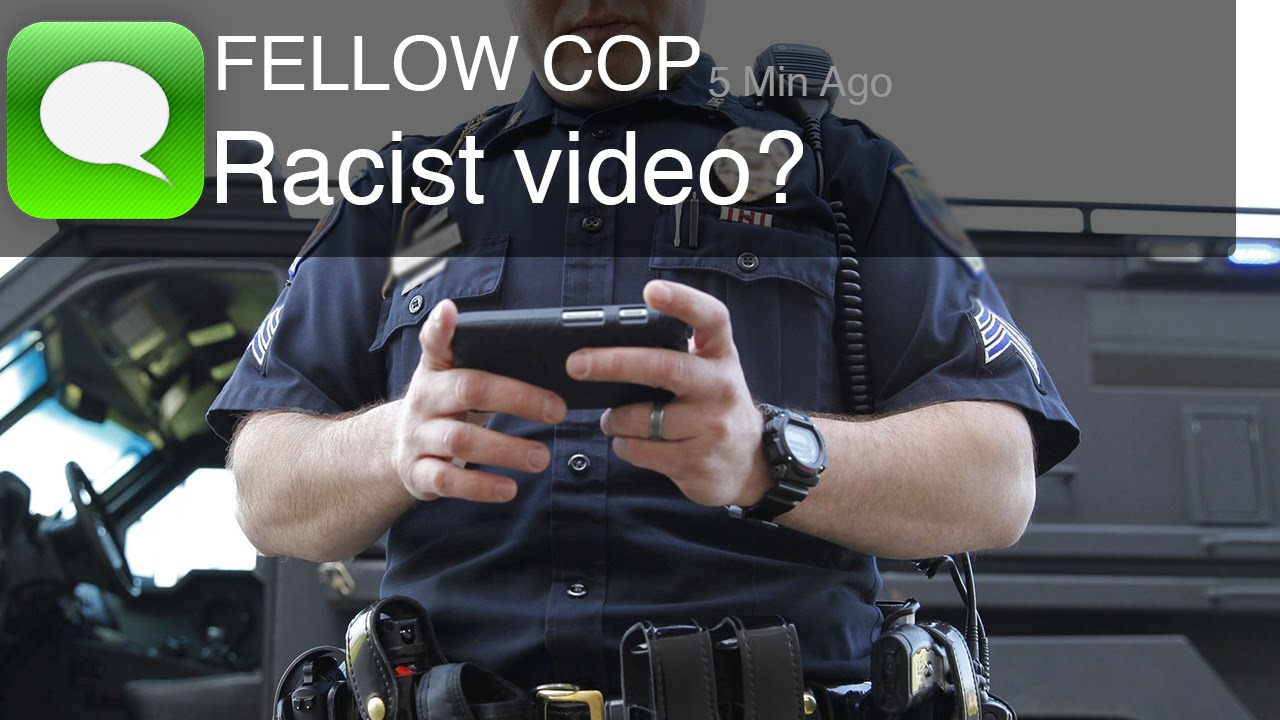 racist police text video released warning disturbing content youtube. Black Bedroom Furniture Sets. Home Design Ideas