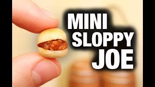 MINI SLOPPY JOE!
