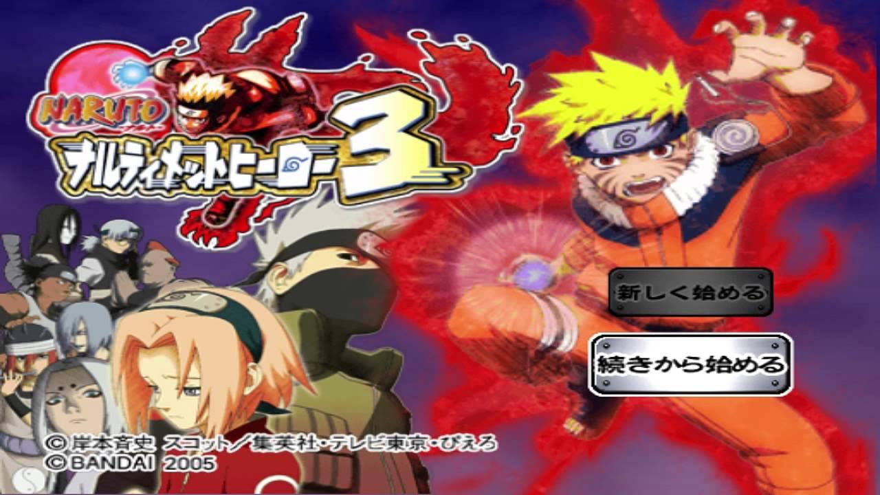 Naruto ultimate ninja 3 ps2 dating