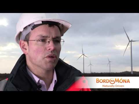Bord na Móna's Mountlucas Wind Farm - A New Energy Story