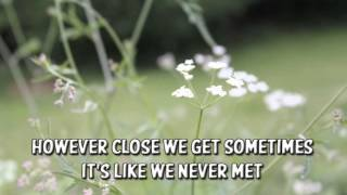 Wilco - You And I (Lyrics)