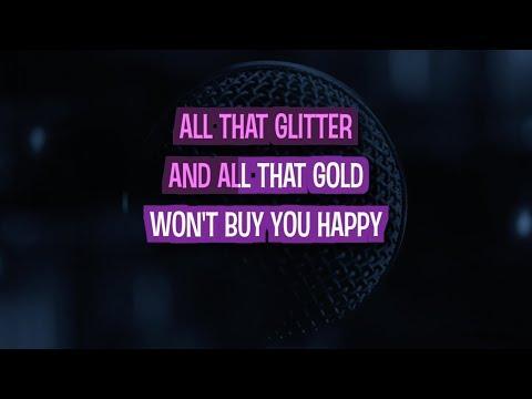 Glitter and Gold (Karaoke Version) - Rebecca Ferguson   TracksPlanet
