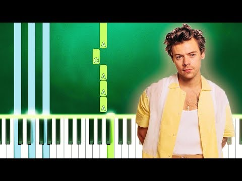Harry Styles - She (Piano Tutorial Easy) By MUSICHELP thumbnail