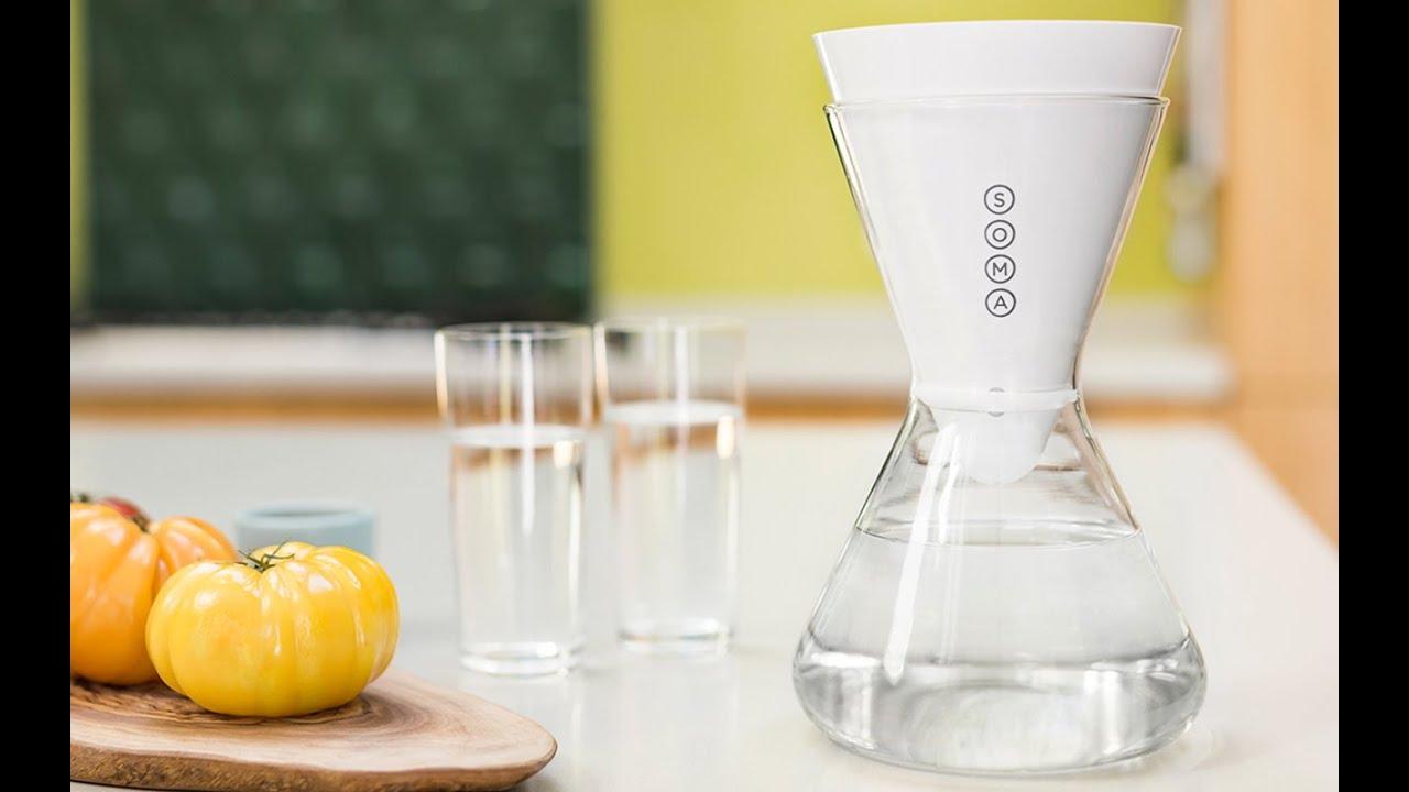 Soma Water Filtration Carafe