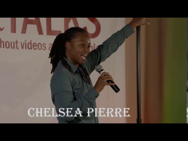 Chelsea Pierre on Success and diversity speaking at the SPeakerTalks event 2020